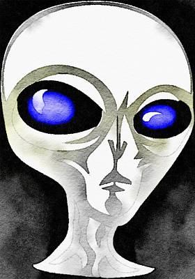 Alien By Raphael Terra Poster