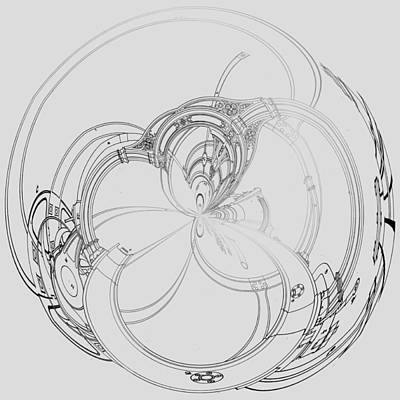 Alien Flywheel Poster