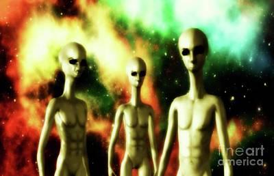 Alien Gods Poster