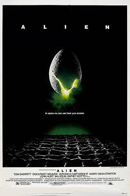 Alien, Poster Art, 1979 Poster by Everett