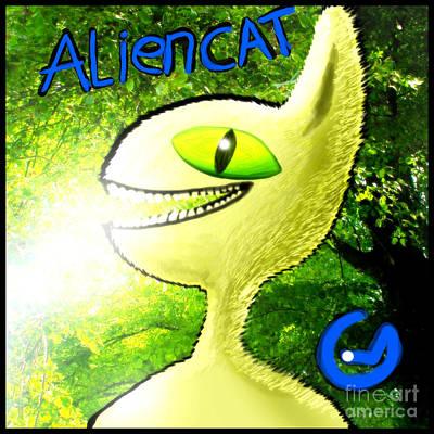 Aliencat Poster