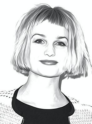 Alison Sudol Art Print Poster by Best Actors