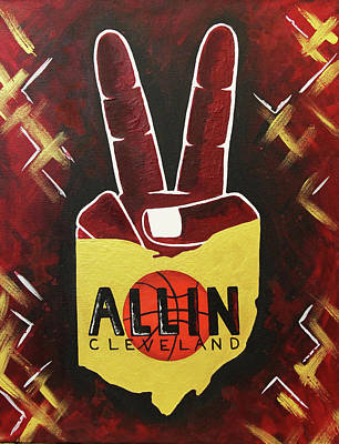 All In Poster by Allison Liffman