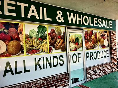 All Kinds Of Produce Poster