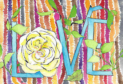 All You Need Is Love Poster by Faith Teel