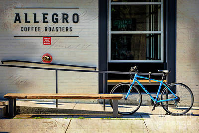 Poster featuring the photograph Allegro Giant Bicycle by Craig J Satterlee
