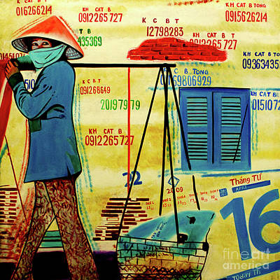 Alley Cat Merchant, The Vietnam Collection Poster by Jeffery Waz
