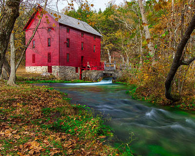 Alley Mill 8x10 Poster by Jackie Novak