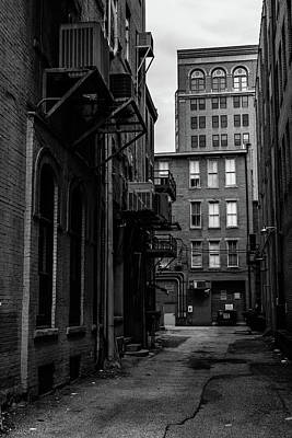 Poster featuring the photograph Alleyway I by Break The Silhouette