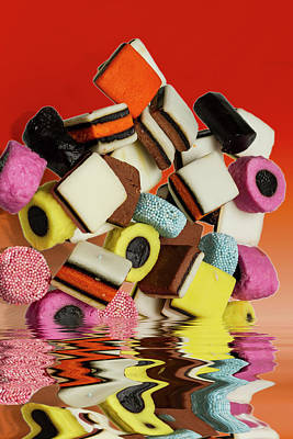 Allsorts Sweets Poster