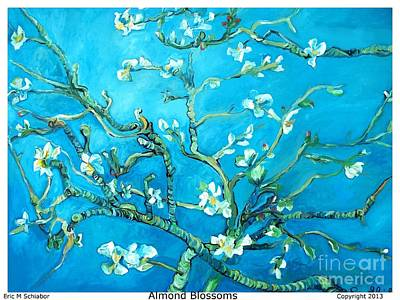 Almond Blossom Poster by Eric  Schiabor