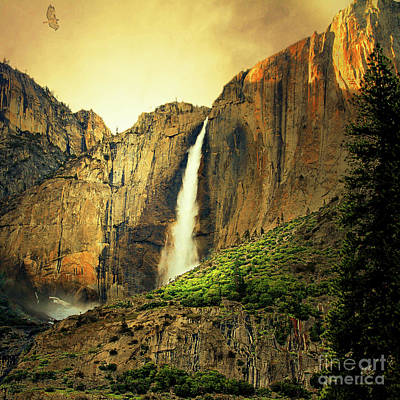 Almost Heaven 7d6129 V2 Square Poster by Wingsdomain Art and Photography