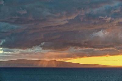 Aloha Rains Poster
