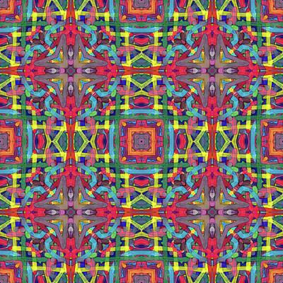 Alphabet Soup -multi-pattern- Poster