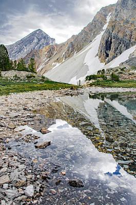 Alpine Lake Reflection Poster