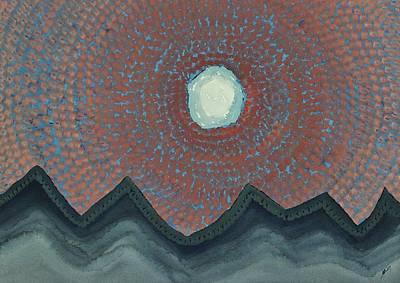 Alpine Resonance Original Painting Poster