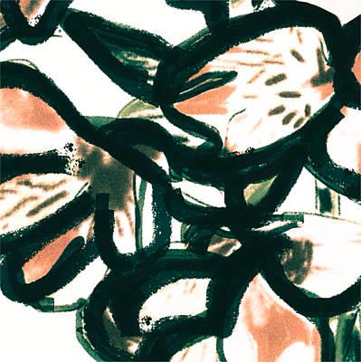 Alstroemeria  Poster