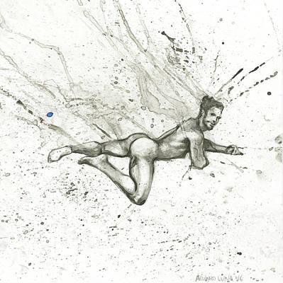 Ocean Breeze Poster by Alvaro Luna