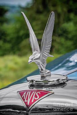 Alvis Car Mascot Poster