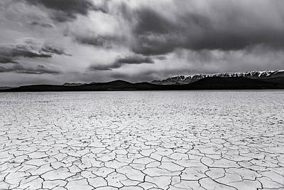 Poster featuring the photograph Alvord Desert by Cat Connor