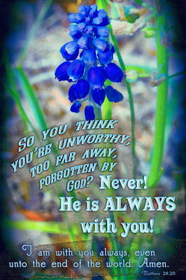 Always With You Poster by Michelle Greene Wheeler