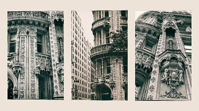 Alwyn Court Triptych Poster by Jessica Jenney