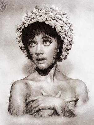 Amanda Barrie, Carry On Actress Poster