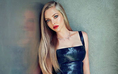 Amanda Seyfried 2015 Poster by F S