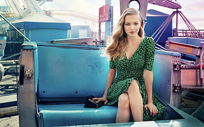 Amanda Seyfried 22 Poster by F S