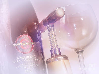 Amarone Wine Tasting Poster
