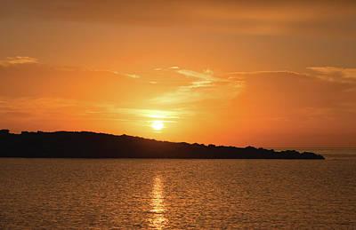 Dawn In Ibiza, Spain Poster