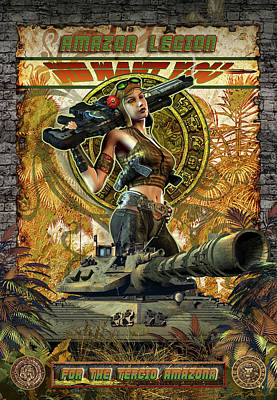 Amazon Legion Poster