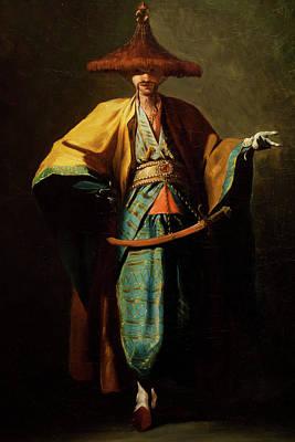 Ambassadeur De La Chine Poster by MotionAge Designs