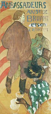 Ambassadeurs, Aristide Bruant And His Cabaret Poster
