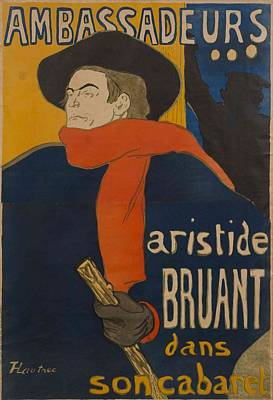 Ambassadeurs  Aristide Bruant Poster