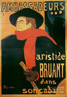 Ambassadeurs Poster by Henri de Toulouse-Lautrec