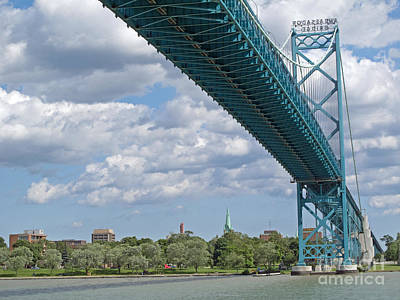 Ambassador Bridge - Windsor Approach Poster