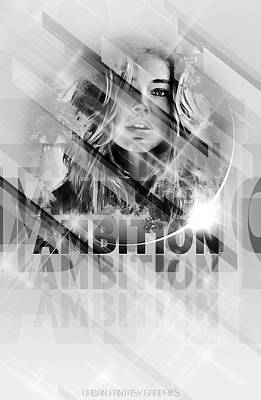 Ambition Poster by Marcus Bradley