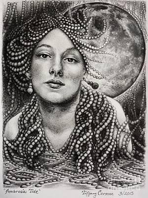 Ambrosia Tide Poster by Tiffany Carman