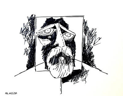 Ameeba 106- Old Man Poster