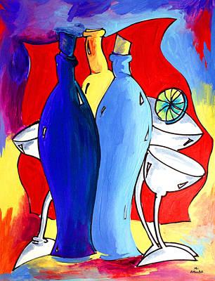 Ameeba 49- Bottles Poster