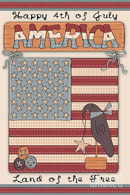 America-jp2837 Poster by Jean Plout