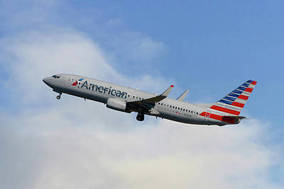 American Airlines Boeing 737-823 Poster