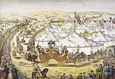American Circus, C1874 Poster