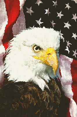 American Eagle Poster