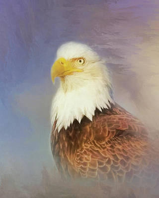Poster featuring the painting American Eagle by Steven Richardson