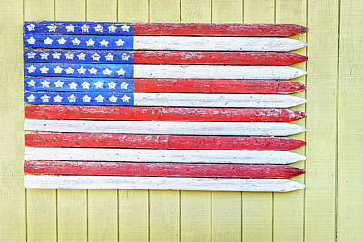 American Flag Poster by Alexey Stiop