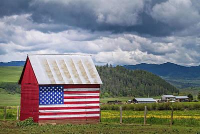 American Landscape Poster