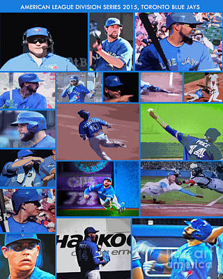American League Division Series Champions 2015 Poster by Nina Silver