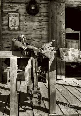 American Wild West Sepia Tone Poster by Mel Steinhauer